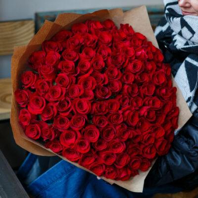 FLOWER SEND TURKEY 101 ROSES