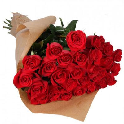 25 red roses send turkey